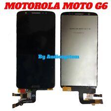 DISPLAY+ TOUCH SCREEN MOTOROLA per MOTO G6 XT1925 NERO LCD VETRO SCHERMO LENOVO