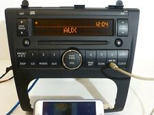 OEM NISSAN ALTIMA AM FM  RADIO SINGLE CD DISC STEREO Player AUX INPUT HEAD UNIT