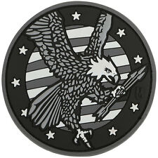 PVC Morale Patch - MAXPEDITION - AMERICAN EAGLE - SWAT colors - Hook & Loop