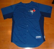 TORONTO BLUE JAYS YAN GOMES GAME USED WORN '12 ROOKIE JERSEY (INDIANS NATIONALS)