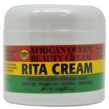 African Queen Beauty Cream Rita Cream Moisturizes & Softens Dry Skin - 4 Oz