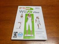 Wii Fit Plus (Nintendo Wii, 2009) CIB Complete TESTED Game Only