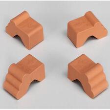 Füsschen Füße Pflanzkübel Blumenkübel Pflanztopf 4 Stück terracotta