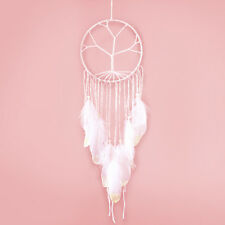 Dream Catcher Pure White Nylon Feather Bedroom Indians Decorations Gift