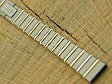 Lassale Vintage Watch Band 13mm Ladies Base Metal Butterfly Clasp NOS Unused