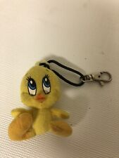 Tweety Yellow Bird Looney Tunes Plush Stuffed Keychain Zipper Pull Swag Backpack