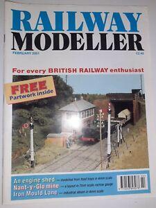Railway Modeller Magazine - February 2001 issue
