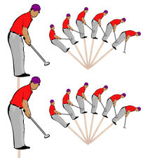 Golf Golfer Party Food Cupcake Picks Sticks Decorations Toppers Birthday Events