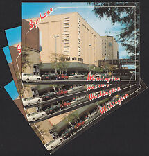 4-Spokane-Washington-Nordstrom Department Store-Skywalk-Vintage Postcard  Lot