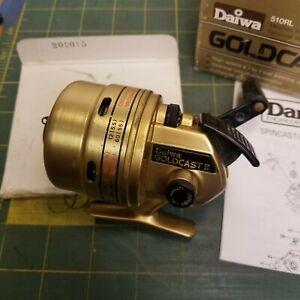 Vintage Daiwa Goldcast II 510RL Fishing Reel Casting Reel Excellent