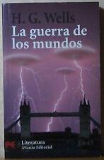 Novela La guerra de los mundos, de H.G. Wells