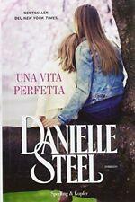 Libro Una Vita Perfetta Danielle Steel Ed. Sperling & Kupfer 2016 9788820060435