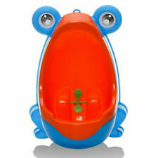 Kid Baby Potty Toilet Training Cute Frog Shaped Urinal Boys Pee Trainer Bathroom
