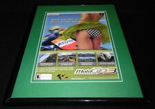 2002 Moto GP3 Playstation 2 11x14 Framed ORIGINAL Vintage Advertisement