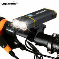 20000LM 2X XM-L2 LED Head Lamp Front Bike Bicycle Light Headlight USB Mount Set