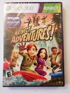 Kinect Adventures! Microsoft Xbox 360 FACTORY SEALED & NEW