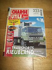CHARGE UTILE MAGAZINE-223-Juillet 2011-TATRA 148-Steyr Man-Strager-DAF
