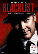 The Blacklist: Season 2 (DVD, 2015, 5-Disc Set) NEW