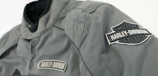 mens harley davidson jacket excursion XL gray black armor waterproof reflective