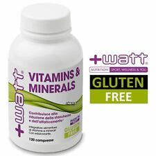 +WATT Vitamins & Minerals 120 cpr multivitaminico multiminerali Vitamine