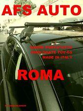BARRE PORTATUTTO  MENABO LANCIA DELTA ANNO 2009 CON TETTO IN VETRO OMOLOGATO TUV
