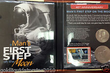 NEW - 40th Anniversary Man's First Step on the Moon