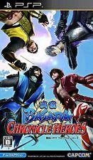 Used Sengoku Basara: Chronicle Heroes (Sony PSP, 2011)