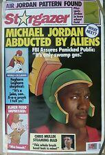 RARE MICHAEL JORDAN BULLS & CHRIS MULLINS WARRIORS 1993 VINTAGE NBA NIKE POSTER