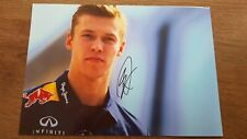 DANIEL KYVAT TORRO ROSSO F1 DRIVER HAND SIGNED AUTOGRAPHED A4 PICTRE FORMULA ONE