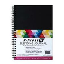 X-press It A4 Blending Journal - 250gsm 20 Sheet / 40 Pages Double Wire Bound PO