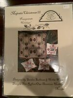 Homespun Elegance Cross Stitch Chart: Majestic Christmas III
