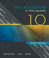 TAFE ACCOUNTING TO TRIAL BALANCE 10 EDITION 10