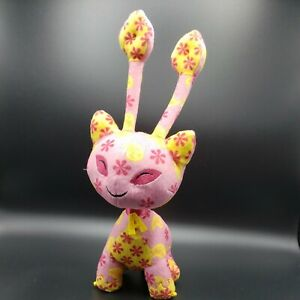 Neopets Interactive Talking Aisha Disco Plush Lights Up Voice Activated Works!