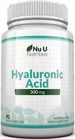 NU U Nutrition Hyaluronic Acid 300mg | 90 Capsules (3 Month Supply) | Triple Str