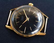 Mechanische Armbanduhren (Handaufzug) mit Gelbgold Poljot