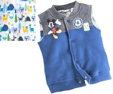Disney Mickey Mouse Vest Coat Jacket Lined Nwt 41%,$11 Off Baby size 3-18 months