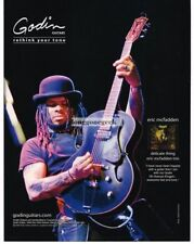 2010 GODIN 5th Avenue Kingpin Electric Guitar ERIC McFADDEN Vtg Print Ad