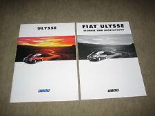Fiat Ulysse Prospekt Brochure prospetto von 9/1994, 32 Seiten