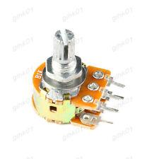 2Pcs B20K WH148 6-Pin Potentiometer Carbon Film Pot With 15mm Handle