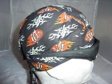 "zandana bandana""Dragon marron fond noir"" biker,harley usa,mediéval, country,moto"