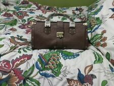 New GENUINE ANNIE'S EYE REAL OSTRICH BAG BROWN from HSN.com sold out $325