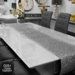 Glitter Table Cloth Runner Christmas Table Decoration