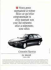 1995 : Citroën Xantia Break, voiture automobile (publicité, advertising)