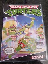 NES TMNT Teenage Mutant Ninja Turtles PAL In Custom Case