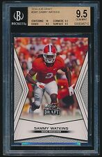 2014 Leaf Draft rc #SW1 Sammy Watkins BGS 9.5