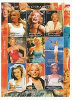 MARILYN MONROE 1999 HISTORY OF AMERICAN CINEMA MNH STAMP SHEETLET