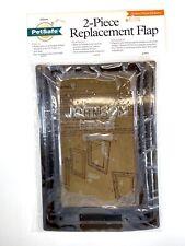 PetSafe Johnson 2-Piece Replacement Flap Vinyl Assembly - Medium - New & Sealed