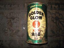 Golden Glow, flat top beer can.Golden West brewing,.Oakland, Calif.