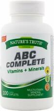 ABC Complete SENIOR 50+ Multivitamin & Minerals 100 ct NT CLEARANCE!! 11/2019