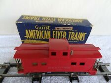 American Flyer Lines Reading 630 Caboose w/box